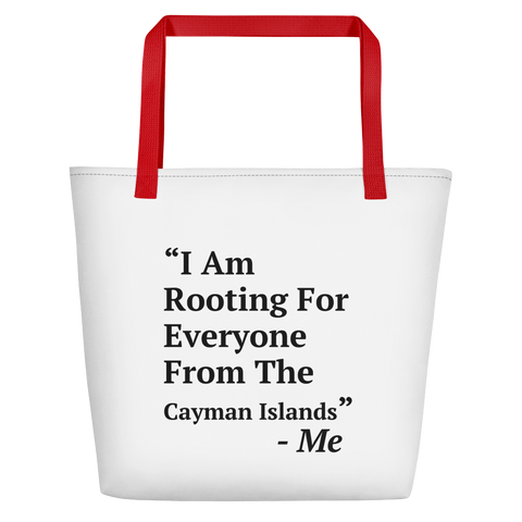 I Am Rooting: Cayman Islands Beach Bag