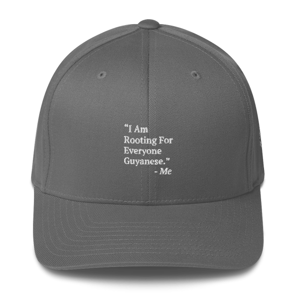 I Am Rooting: Guyana Structured Twill Cap