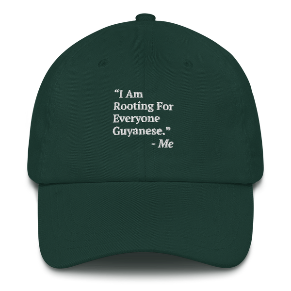 I Am Rooting: Guyana Dad hat