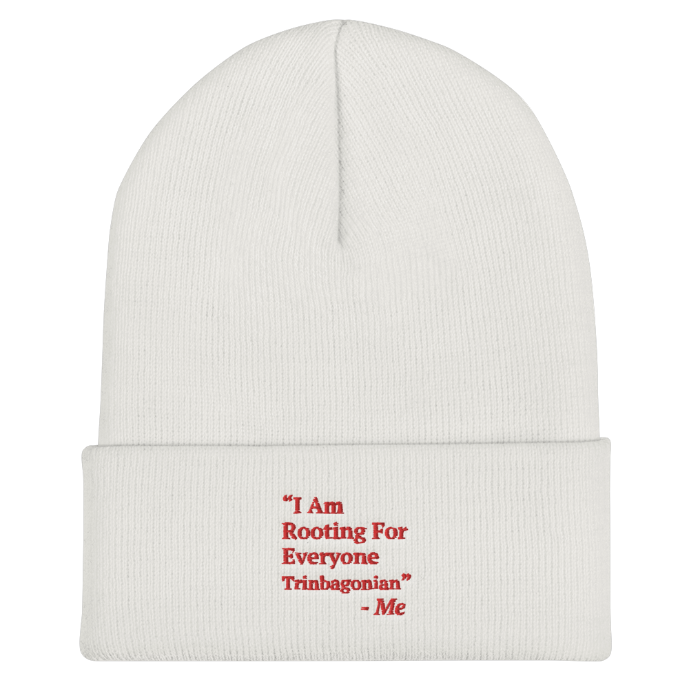 I Am Rooting: Trinbago Cuffed Beanie