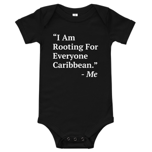 I Am Rooting: Caribbean Baby One Piece