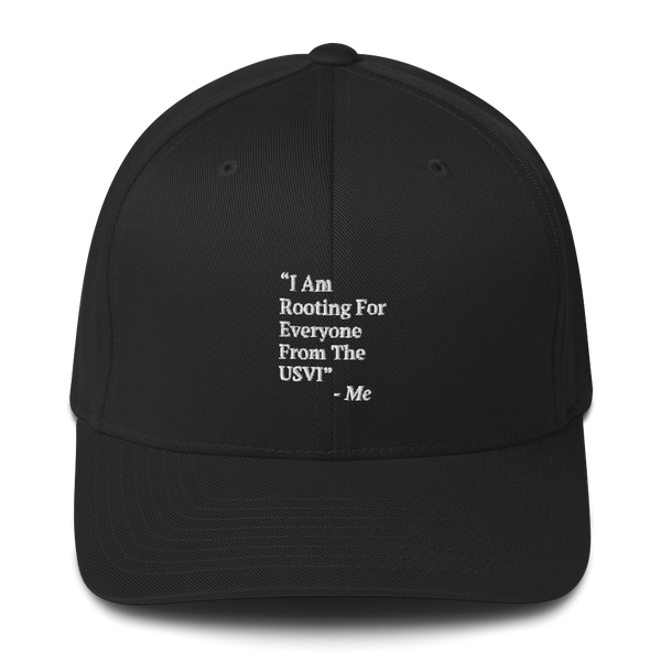 I Am Rooting: USVI Structured Twill Cap