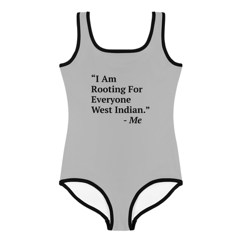 I Am Rooting: West Indian Kids Swimsuit