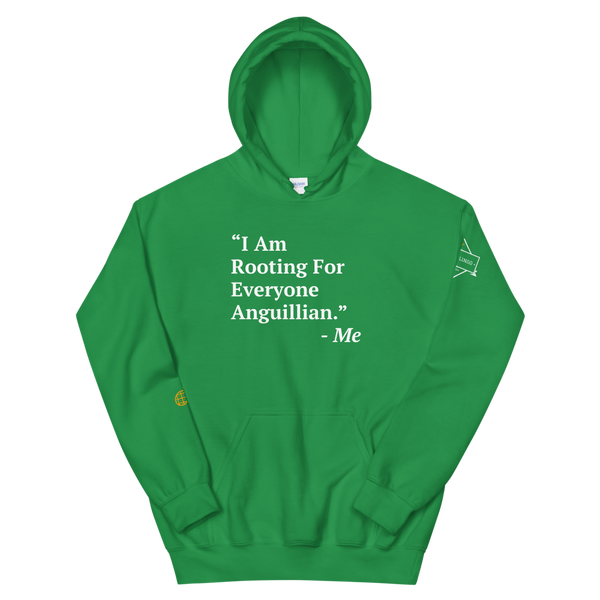I Am Rooting: Anguilla Unisex Hoodie