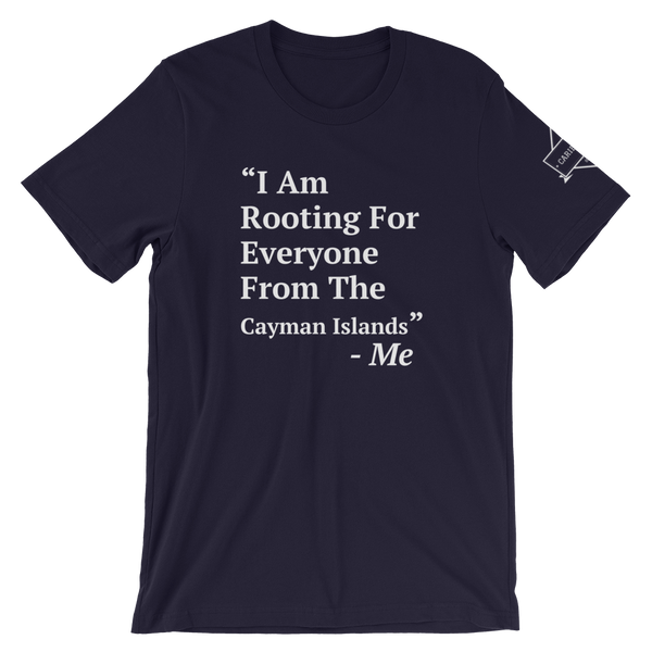 I Am Rooting: Cayman Islands T-Shirt