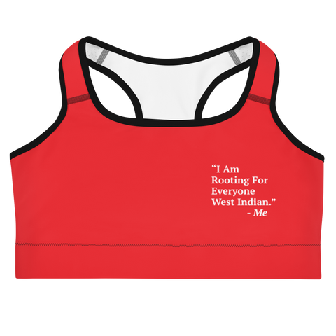 I Am Rooting: West Indian Sports bra