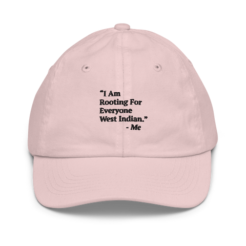 I Am Rooting: West Indian Youth baseball cap