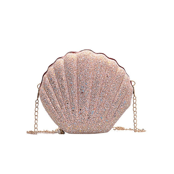 Women's Shell Chain Cute Sequins Shoulder Handbags