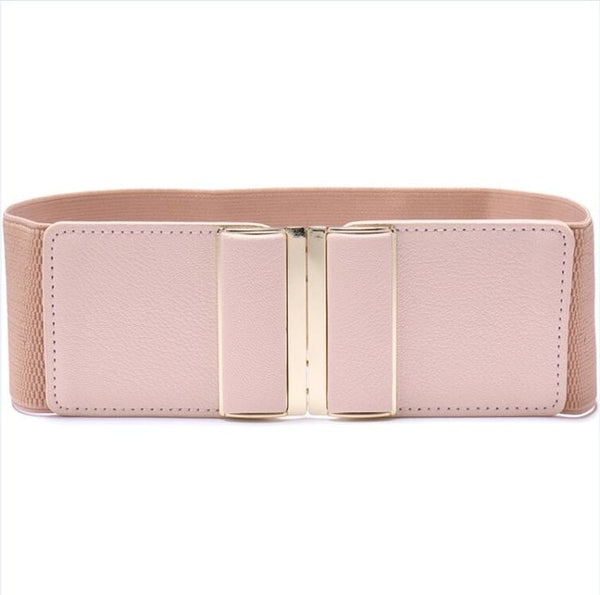"Womens 3"" Wide Belt Elastic Stretch Cinch Waistband Lady Cummerband Plus Size Girls Waistband Waist Seal Wide Belt Women"