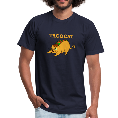 Tacocat for lovers of cats and tacos - navy