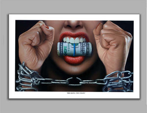 Breaking the Chain Limited Edition Fine Art Paper Print