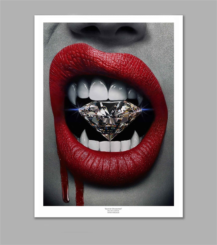 Blood Diamond Limited Edition Fine Art Paper Print