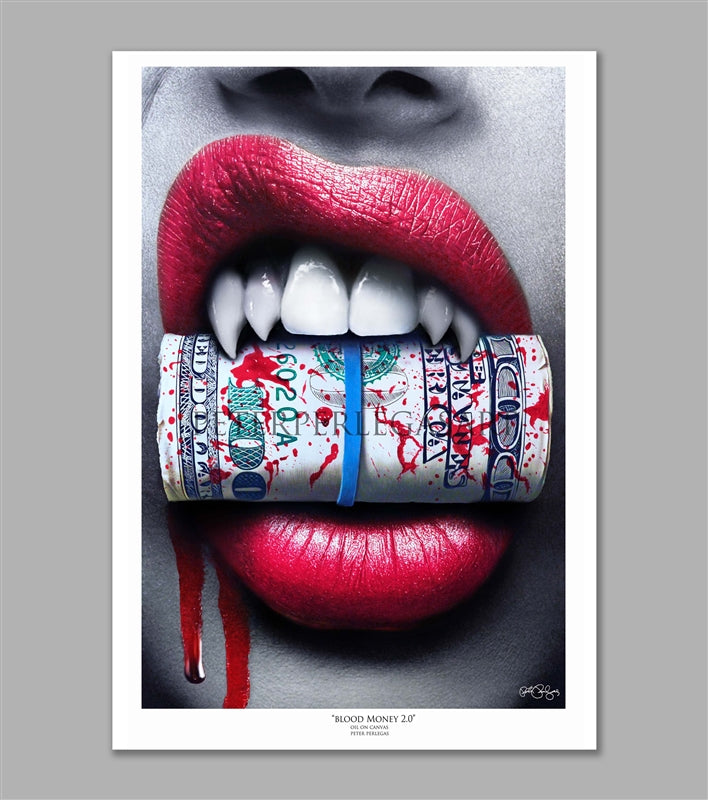 Blood Money Limited Edition Fine Art Paper Print