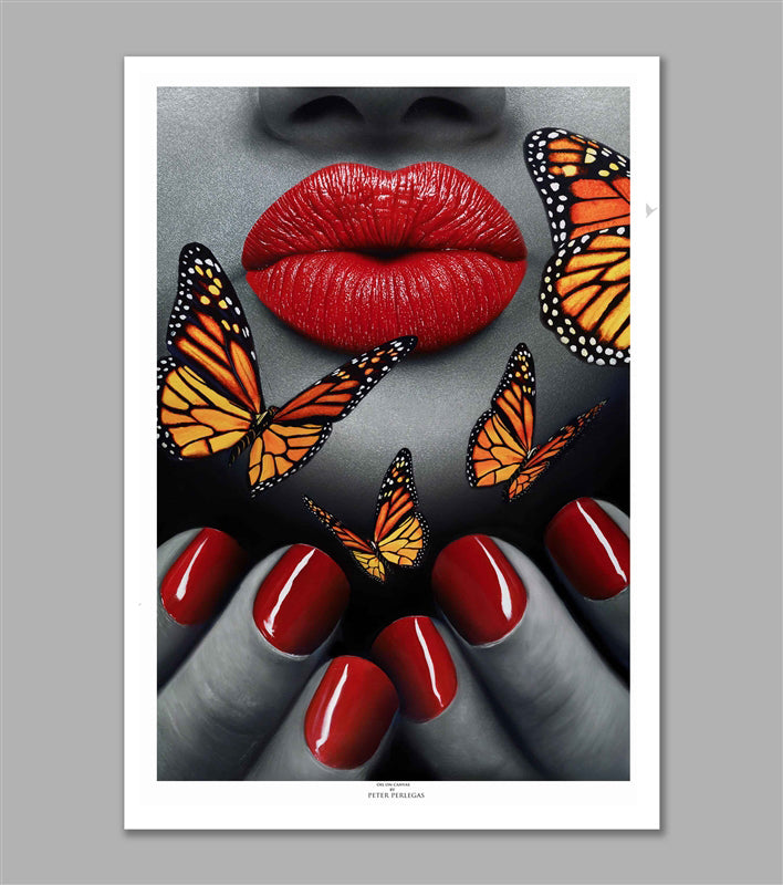 Butterfly Effect Limited Edition Fine Art Paper Print