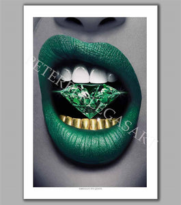 Emerald City Queen Limited Edition Fine Art Paper Print