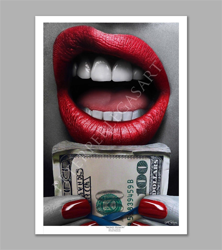 Money Hungry Limited Edition Fine Art Paper Print