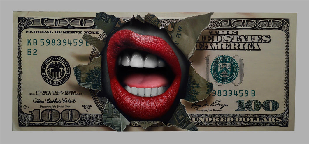 Money Talks Limited Edition Fine Art Paper Print