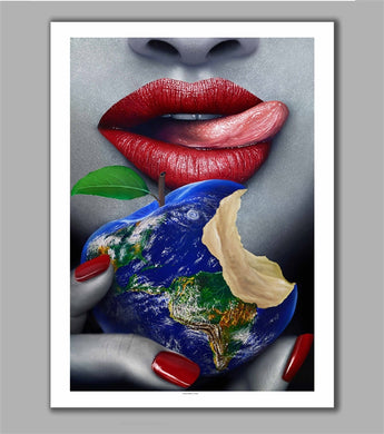 Paradise Lost Limited Edition Fine Art Paper Print