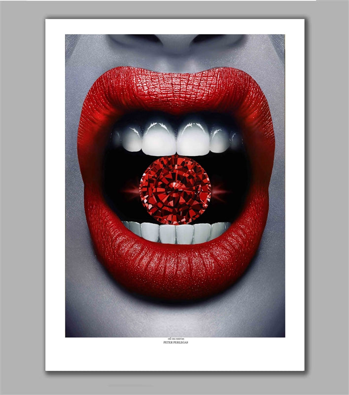 Ruby Red Limited Edition Fine Art Paper Print