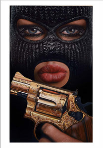 Ski Mask Way Limited Edition Fine Art Paper Print