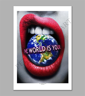 The World is Yours Limited Edition Fine Art Paper Print