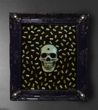Load image into Gallery viewer, Luminescent Bite the Bullet 3D Framed Original Sculpture  Limited Edition  (#1 - #15)