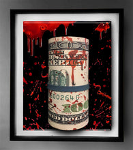 "Load image into Gallery viewer, Blood Money"" 3D Framed Original Sculpture Limited Edition  (#1 - #25)"