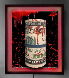 "Blood Money"" 3D Framed Original Sculpture Limited Edition  (#1 - #25)"