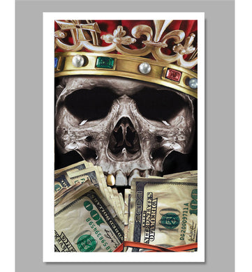 Get Rich or Die Trying Limited Edition Fine Art Paper Print