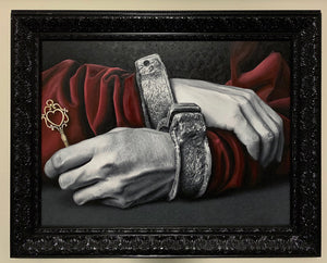 Prisoner of Love Original Oil Painting on Canvas