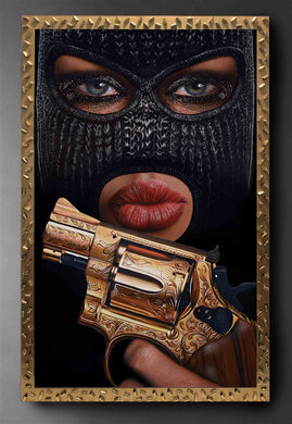 Ski Mask Way Collector's Edition Resin Print READY TO HANG