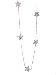 The Lucky Seven Shiny Star Necklace