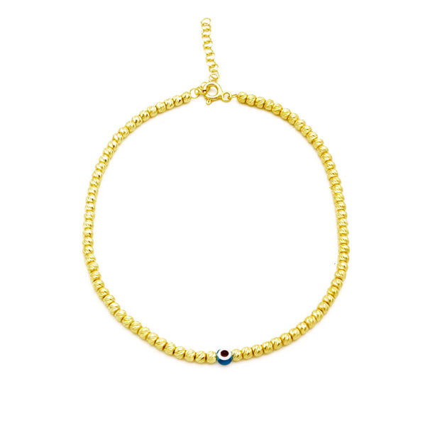 The Evil Eye Anklet