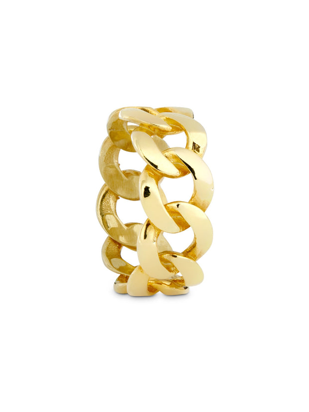 The Unadorned Cuban Link Ring