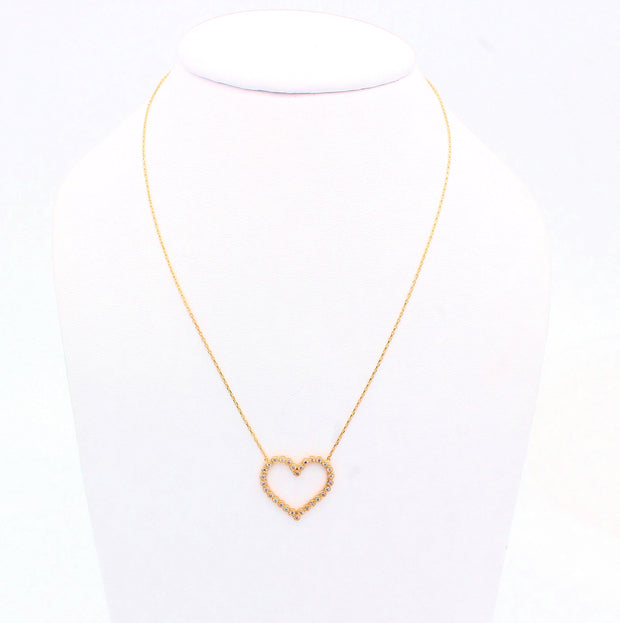 The Kind Hearted Necklace - 14K GOLD