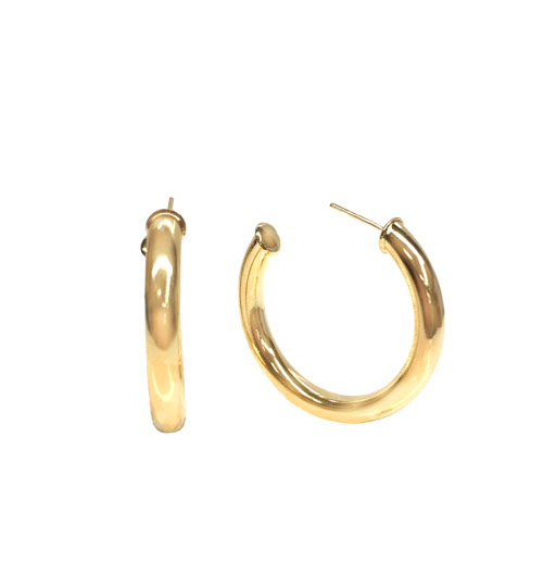 The Bold Gold Filled Hoops