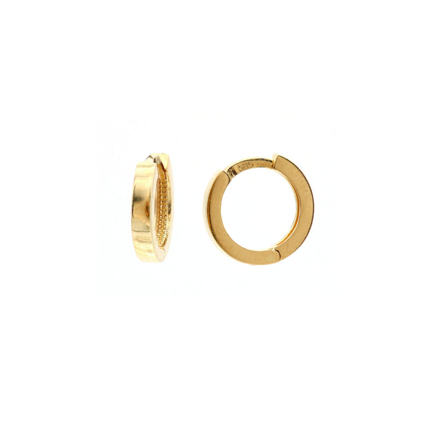 The Wide Gold Hoop -14K Gold