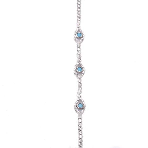 The Tennis Eye Bracelet