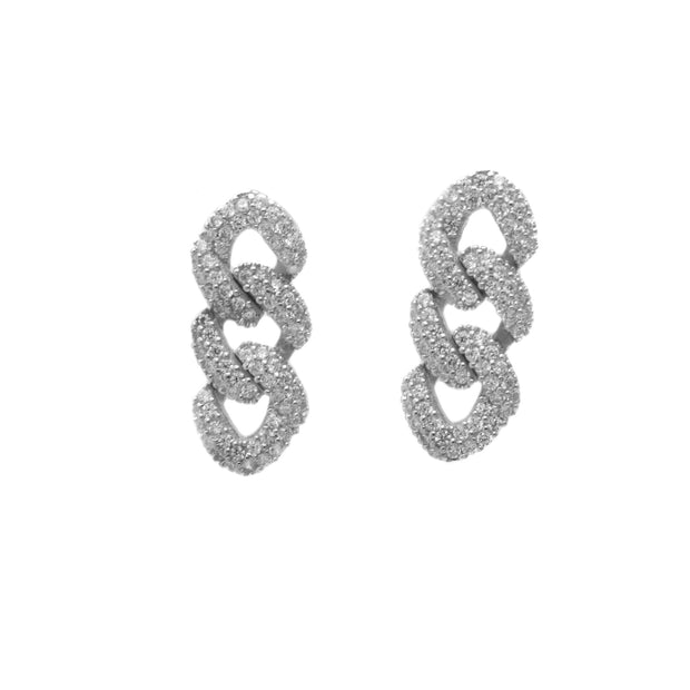 The Andrea Cuban Link Small Dangling Earrings