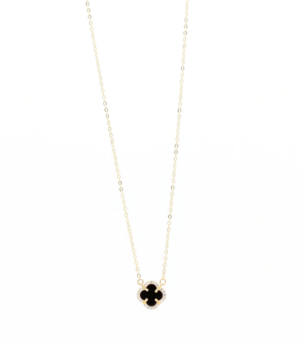 The Clover Necklace - 14K GOLD