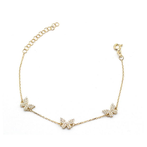 The Shining Mini Butterfly Bracelet