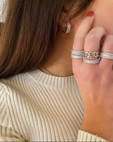 The Classic Princess Layered Ring