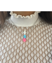 The Opal Hamsa Necklace