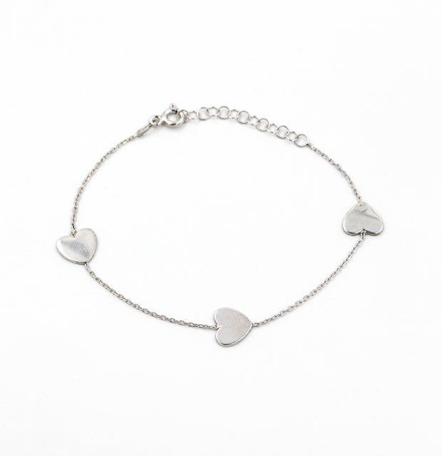 The Three-Heart Bracelet