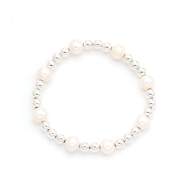 The Half Pearl Arm Candy Bracelet