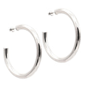 The Bold Silver Hoops