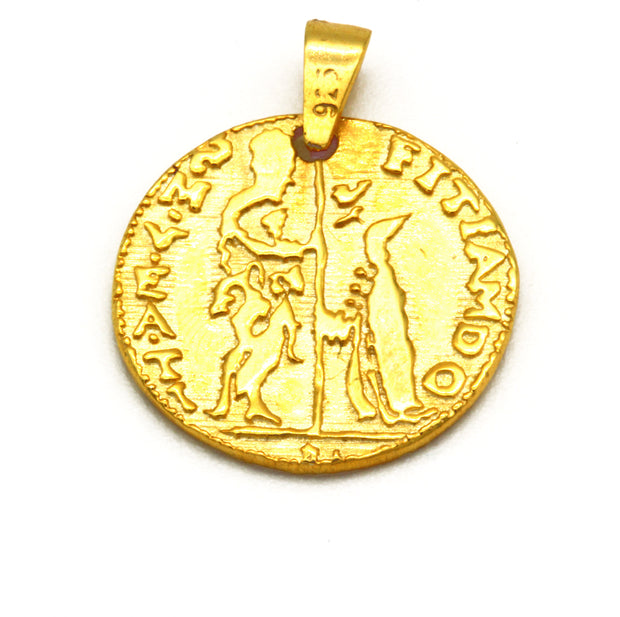The Byzantine Coin Pendant