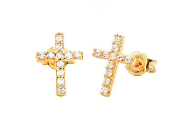 The Classic Cross Studs