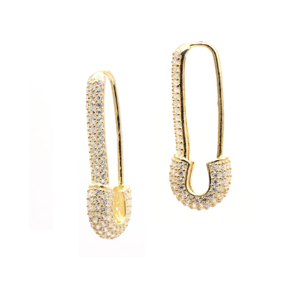 The Stay Safe Safety Pin Earrings