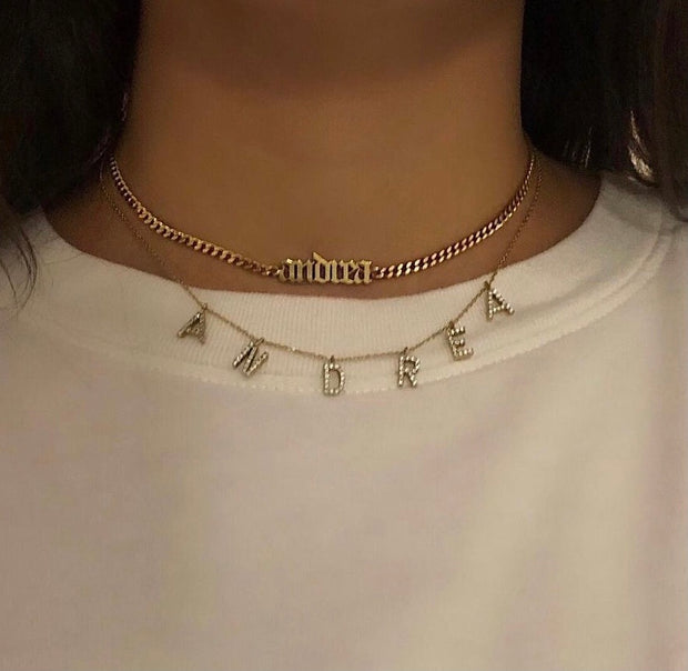 The Personalized Letter / Name Necklace